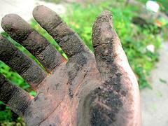 Garden Drainage Enquiry In Lymm