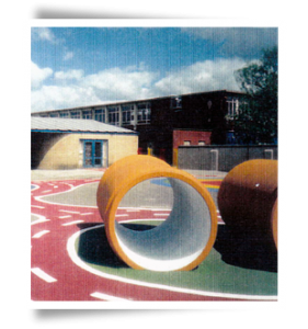 School Playground Construction In Wigan
