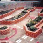 School playgrounds in Warrington